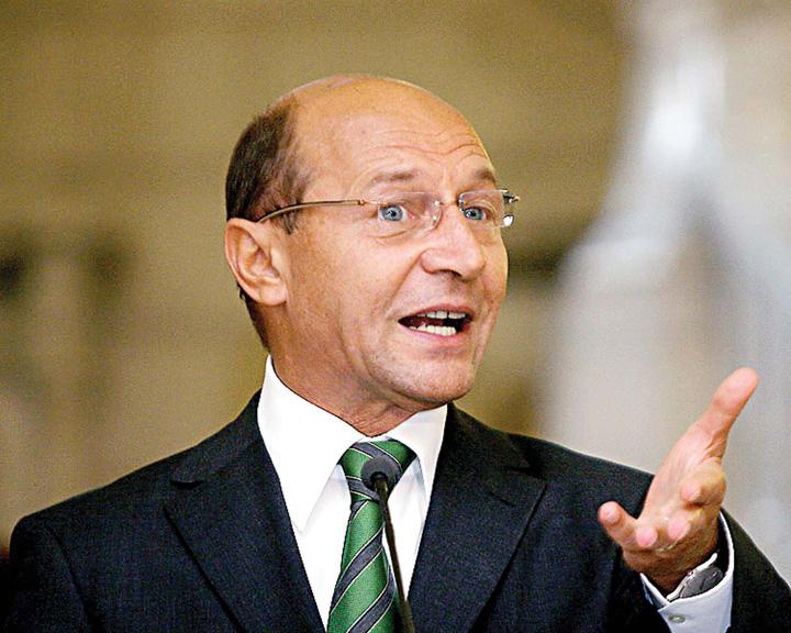 traian basescu 1 Parlamentul, complice cu golanul politic Basescu
