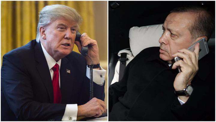 trump erdogan Ce pun la cale Trump si Erdogan