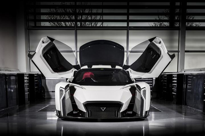 vanda 1 Supercars si masini zburatoare la Monaco