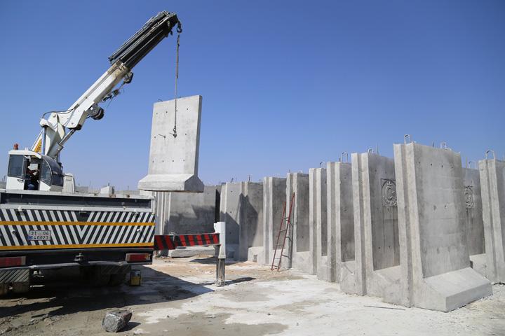 zid 3 Marele zid turcesc e gata, urmeaza megamoscheea lui Erdogan