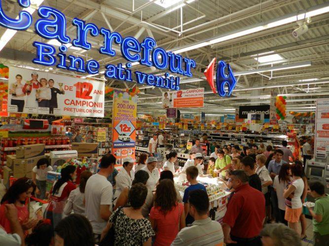 1 3 667x500 Premiera: vanzarile Carrefour in Romania depasesc 1,5 miliarde euro!