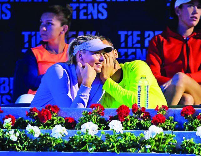 18554424 780519352114067 511100414 n 643x500 N a participat degeaba: Sarapova s a recombinat la turneul lui Tiriac!