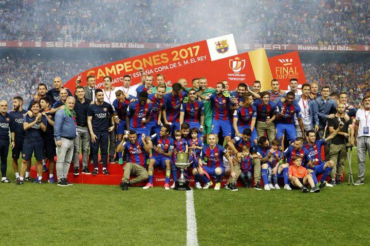 BARCELONA COPA DEL REY 2017 27052017 182337 720x480 FC Barcelona a castigat Cupa Spaniei