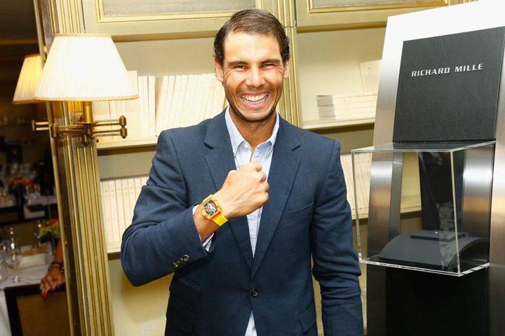 NADAL 720x480 Rafael Nadal poarta un ceas de 750.000 de dolari
