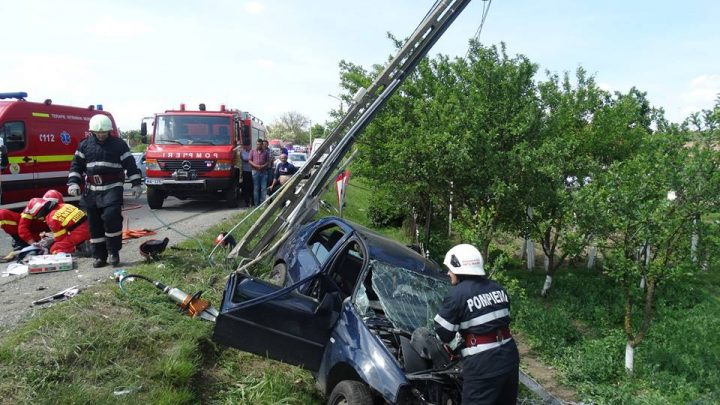 accidsatumare 720x405 Cumplit accident pe E 81, in Satu Mare