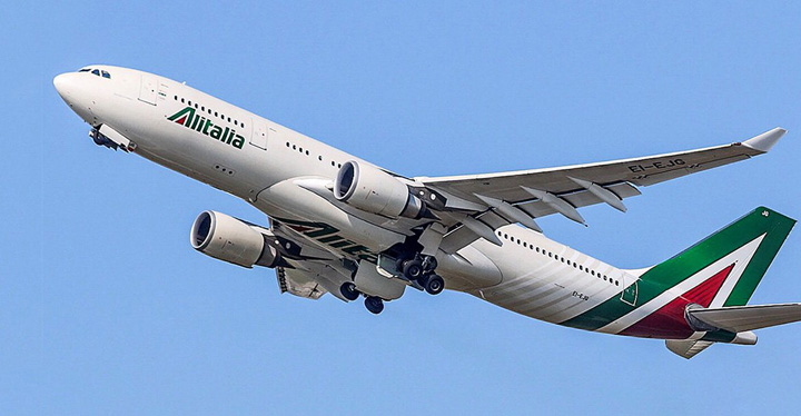 alitalia Alitalia a intrat in faliment