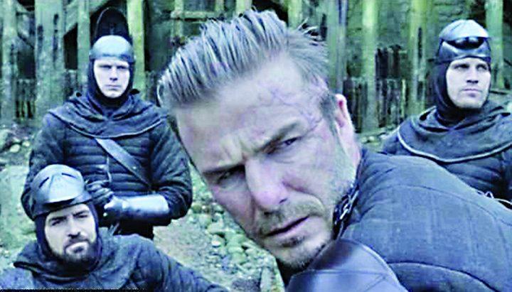 beckham 2 720x411 Debutul lui Beckham in cinematografie. Dezamagire!