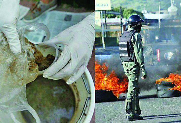 bombe cacat 720x489 Cocktailul Poopootov, noua arma a manifestantilor venezueleni