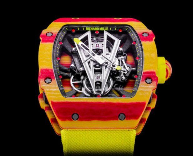 ceas al lui Rafael Nadal 617x500 Rafael Nadal poarta un ceas de 750.000 de dolari