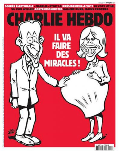 charlie 394x500 Macron nu va depune juramantul de investitura
