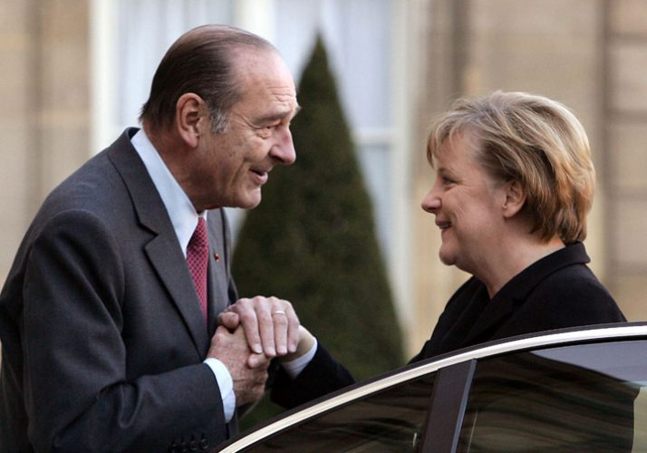 chirac 714x500 Merkel, femeia adorata de presedintii Frantei