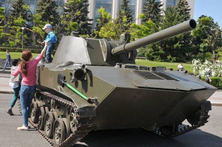 comunisti 2 720x477 Comunistii din Moldova au sarbatorit Ziua Victoriei in avans