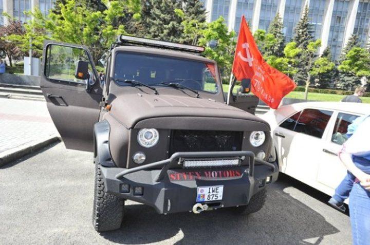 comunisti 7 720x477 Comunistii din Moldova au sarbatorit Ziua Victoriei in avans