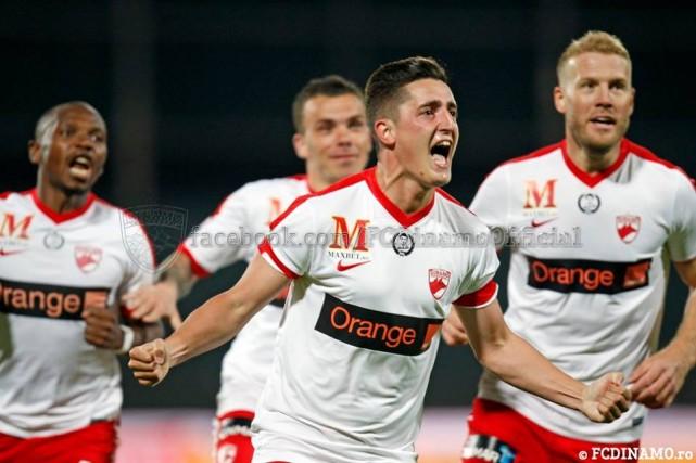 din Dinamo, pe primul loc in Liga I, dupa victoria de la Cluj