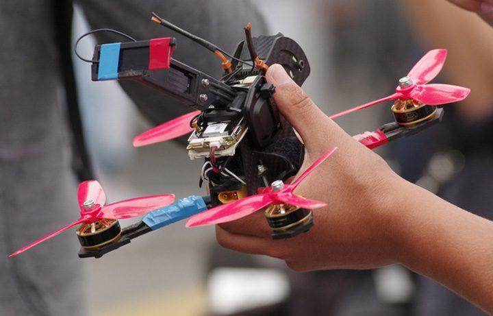 drone 720x461 Scut antidrone la o inchisoare din Anglia