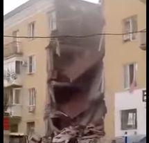 explozie Morti si raniti in urma unei explozii intr un bloc rusesc (VIDEO)