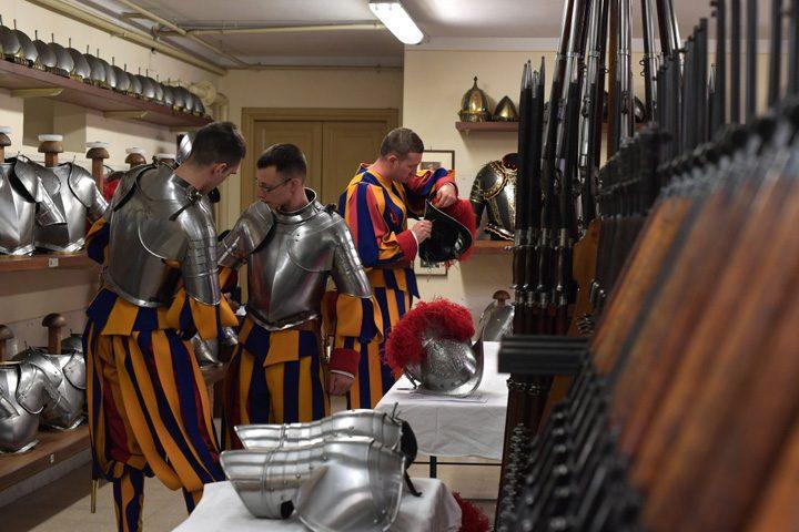 garda1 720x480 Soldatii lui Cristos au depus juramantul