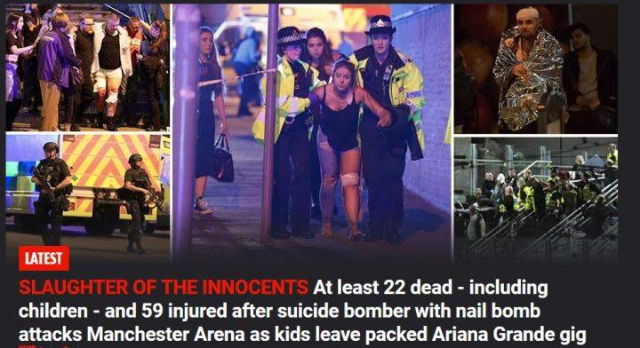 gffdg 720x392 Atac terorist la Manchester: explozie soldata cu 22 morti la concertul Arianei Grande