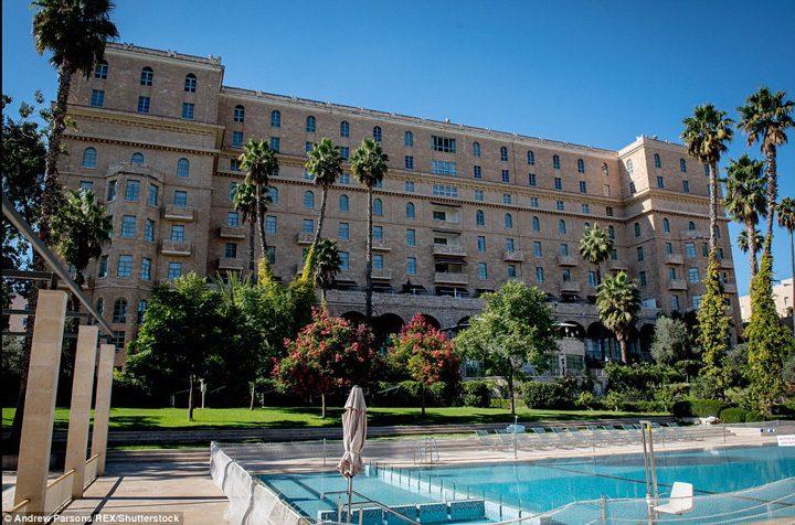 hotel 720x476 Apartament blindat pentru Trump in Israel
