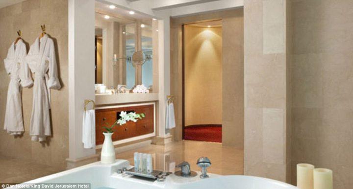 hotel1 720x386 Apartament blindat pentru Trump in Israel