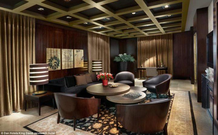 hotel2 720x446 Apartament blindat pentru Trump in Israel