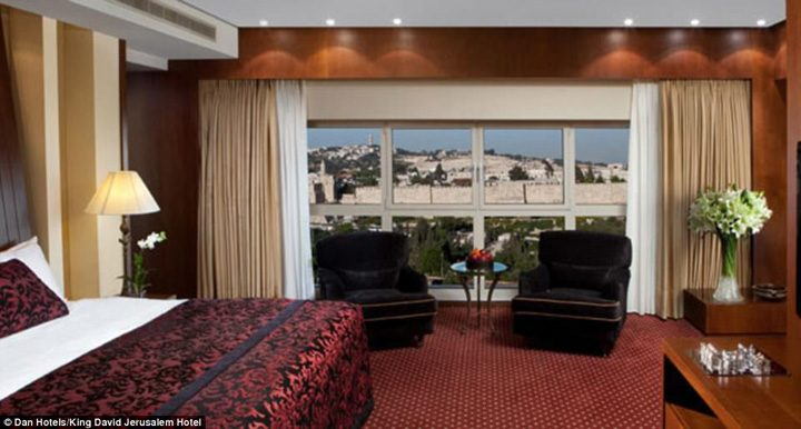 hotel3 720x386 Apartament blindat pentru Trump in Israel