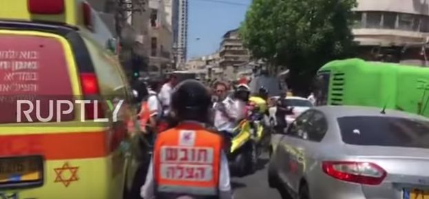 incid Incident in Tel Aviv, inainte de sosirea lui Trump: o masina a ajuns in multime (VIDEO)
