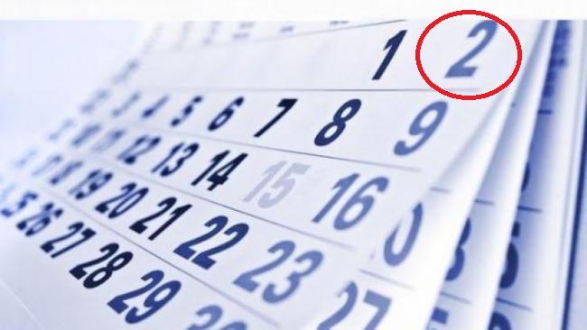 liber E oficial: 2 iunie e zi libera, in acest an!