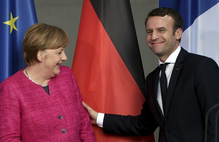macron 2 720x469 Merkel, femeia adorata de presedintii Frantei
