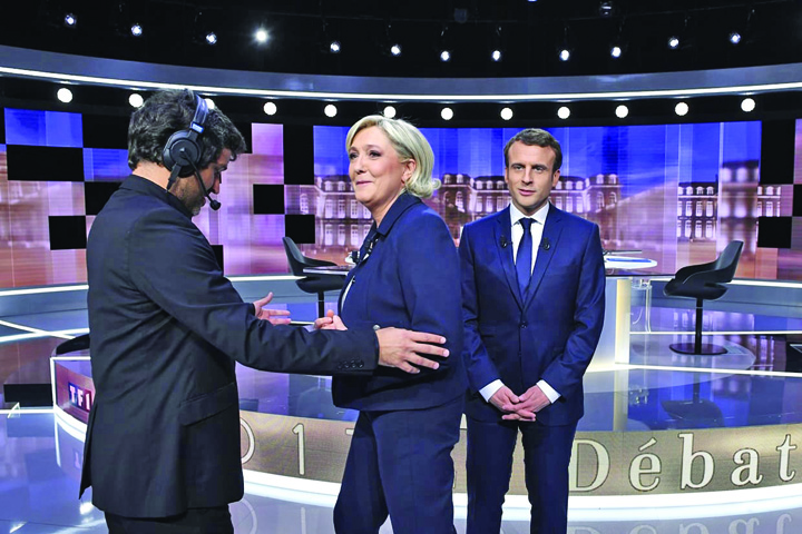 macron le pen Tom si Jerry, ultima confruntare