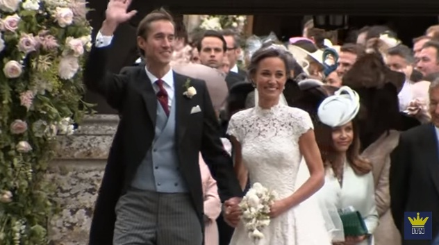 nunta 1 Pippa Middleton a stralucit in ziua in care a imbracat rochia de mireasa (VIDEO)