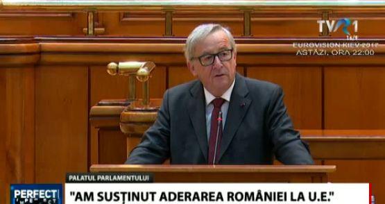 oficial Junker, in Parlament: avem foarte multe lucruri de invatat de la romani