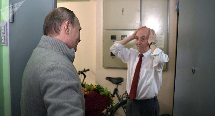 putin 2 720x390 Putin, vizita surpriza la fostul lui sef