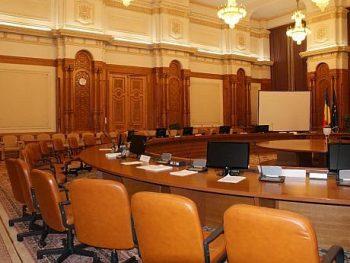 sala de sedinte parlament 350x263 Legile Justitiei. DNA nu va mai putea infiinta servicii teritoriale fara aviz CSM
