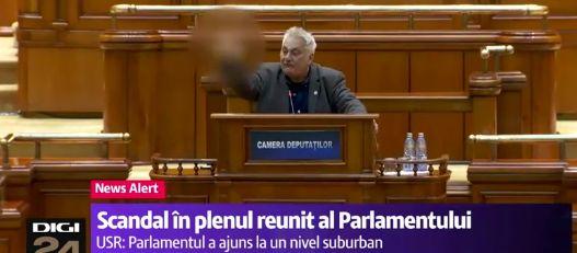 scand Circ in plen. Bacalbasa, in vizorul sefilor PSD, dupa episodul din Parlament (VIDEO)