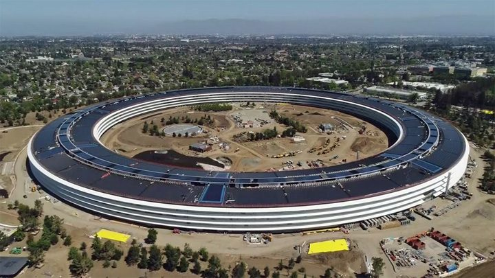 "skydrone vu apple spacecamp 720x405 Apple Park, ""templul"" corporatistilor !"