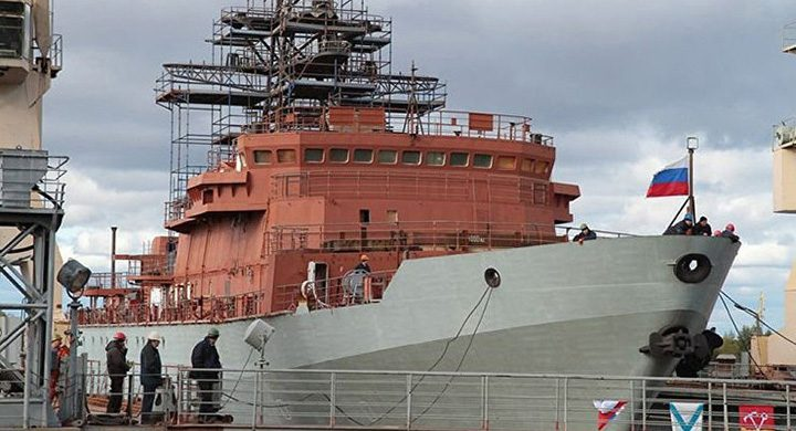 spion 720x390 Rusia a lansat la apa o noua nava spion
