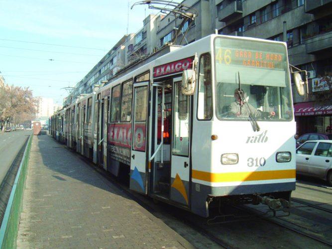 tram 46 667x500 Bucurestii au banda unica si primarita tot asa