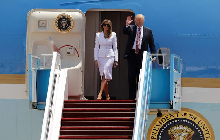 trump israel 1 720x459 Trump se vrea porumbelul pacii in Israel