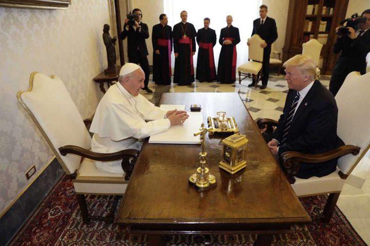 trump vatican 1 720x480 Aventurile clanului Trump la Vatican
