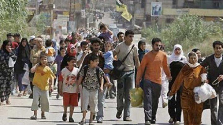val de refugiati 720x404 Golanii imobiliare la varful Politiei de Frontiera!