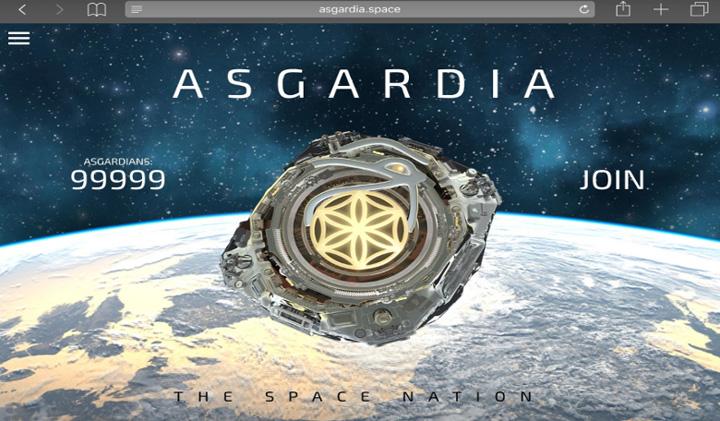 AsgardiaCounter Asgardia, prima natiune cosmica
