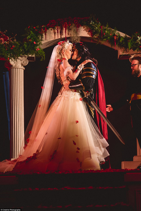 Dracula 14 Nunta lui Dracula, varianta americana
