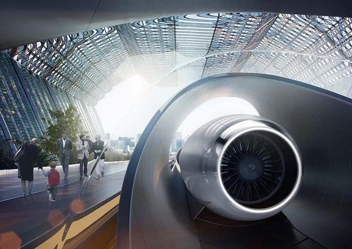 Hyperloop transportation technologies 1 Hyperloop One, primul tren ultrarapid
