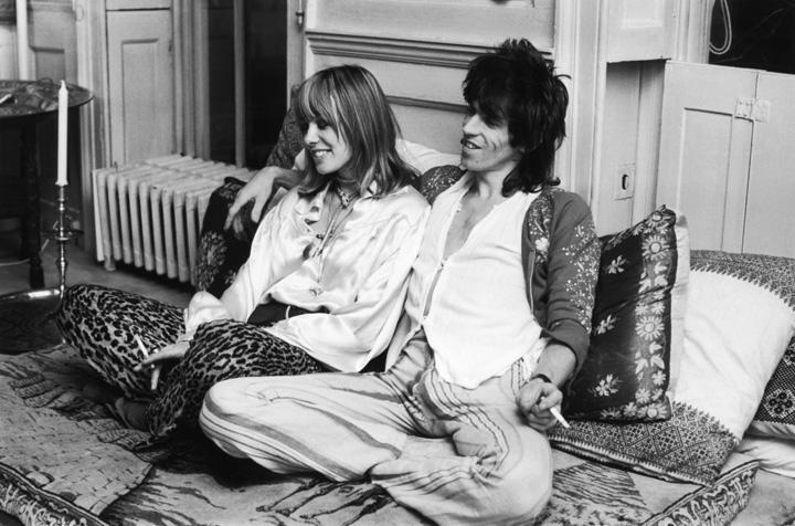 Keith Richards et Anita Pallenberg A murit muza trupei Rolling Stones