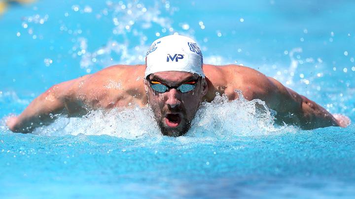 Michael Phelps Phelps, competitie cu un rechin