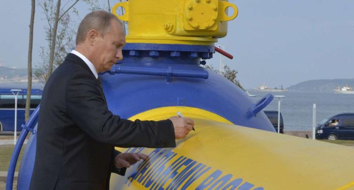 Putin gazoduct Putin vrea gazoduct langa Romania