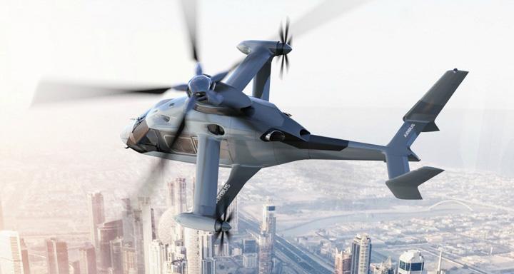 airbus racer Racer, elicopterul cu aripi care prinde 400 km/h