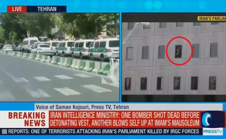 atac 3 720x443 12 morti in doua atacuri, unul vizand cladirea Legislativului iranian