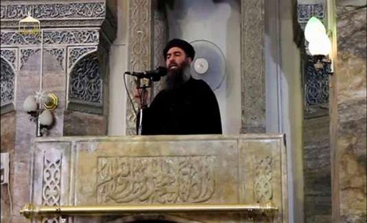 "baghdadi medalion ISIS dinamiteaza moscheea unde si a proclamat ""califatul"""